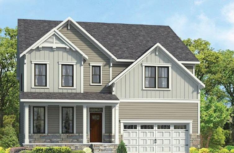 Stratford Elevation Farmhouse N quick move-in