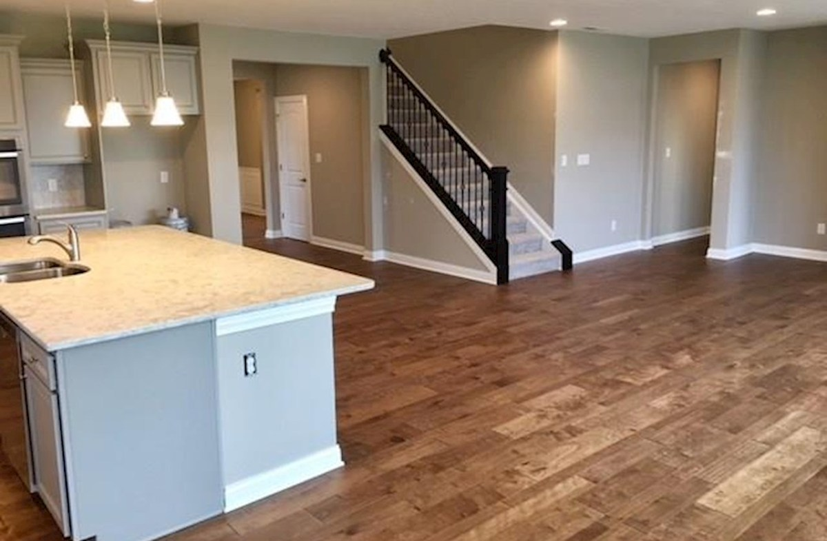 Windsor quick move-in Open concept floor plan for entertaining