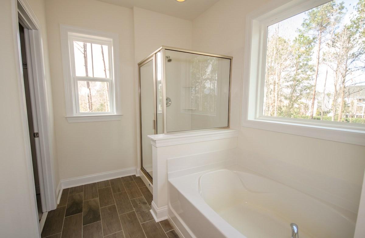St. Thomas Preserve Archdale spa-inspired Choice Master Bathroom