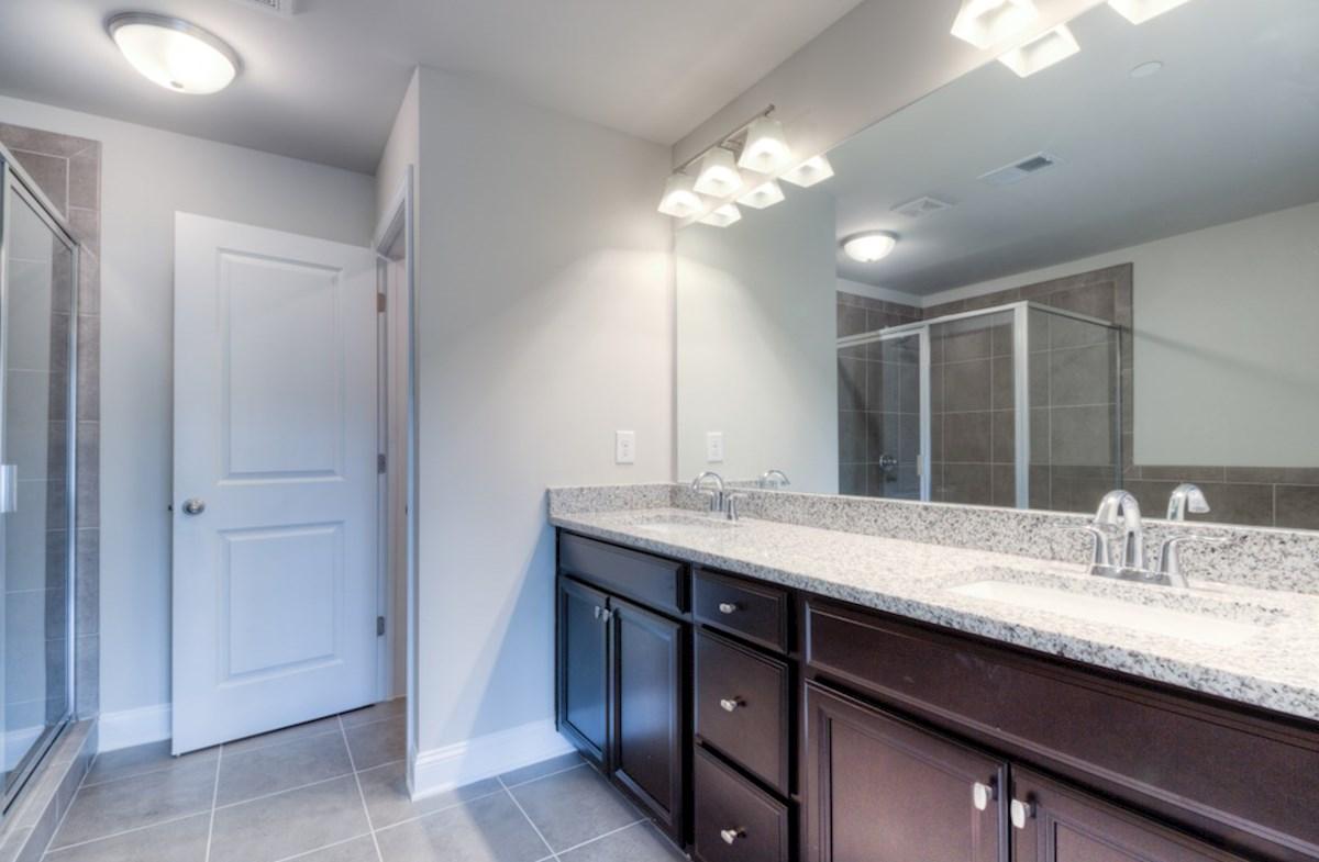 Preston quick move-in Master Bathroom with dual sinks