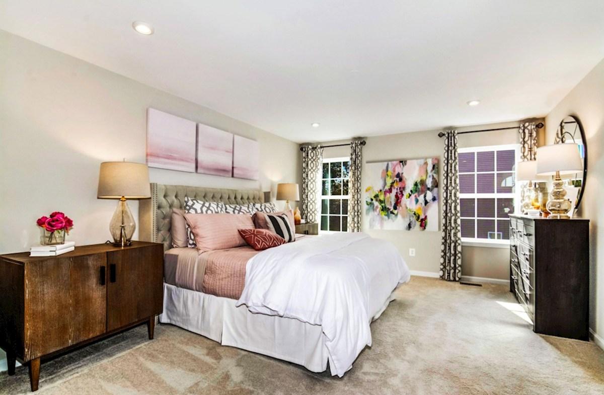 Enclave at Long Branch Belhaven well-lit bedroom