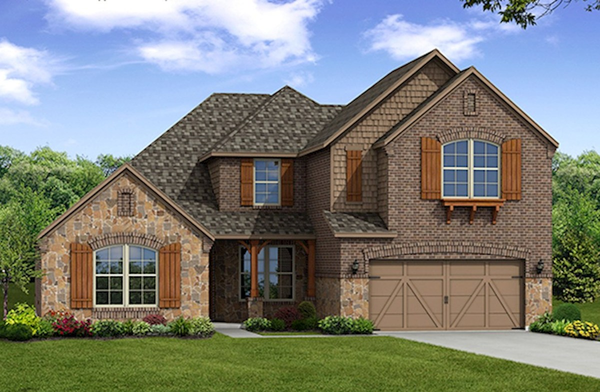 Kerrville Elevation French Country L