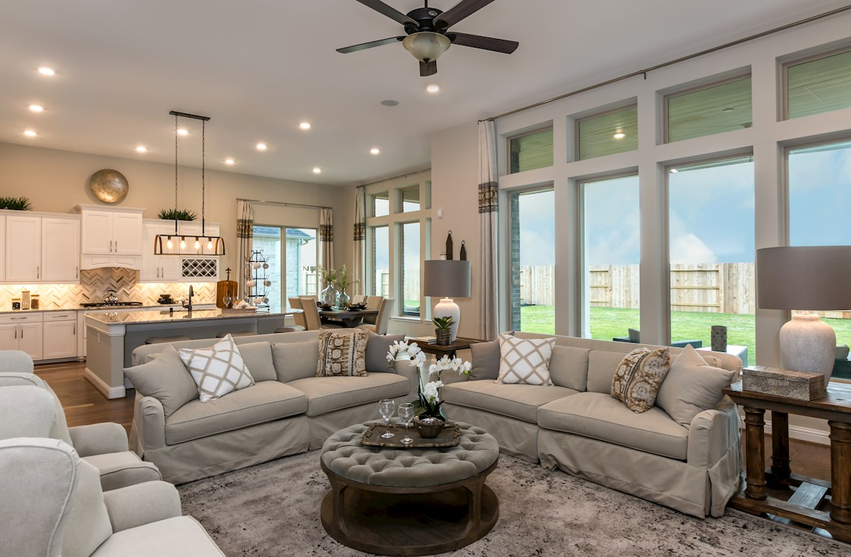 Young Ranch Aldrin open great room