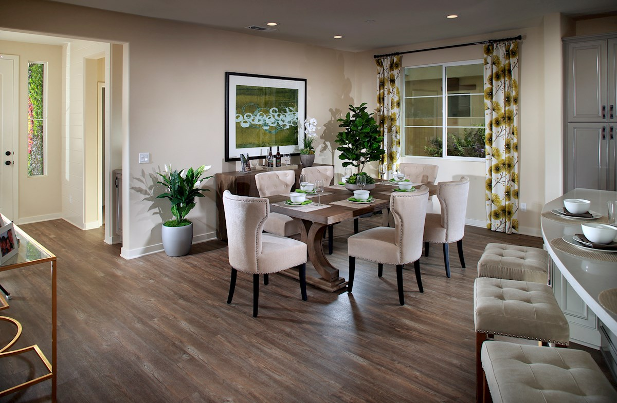 Mission Lane Peony spacious dining room