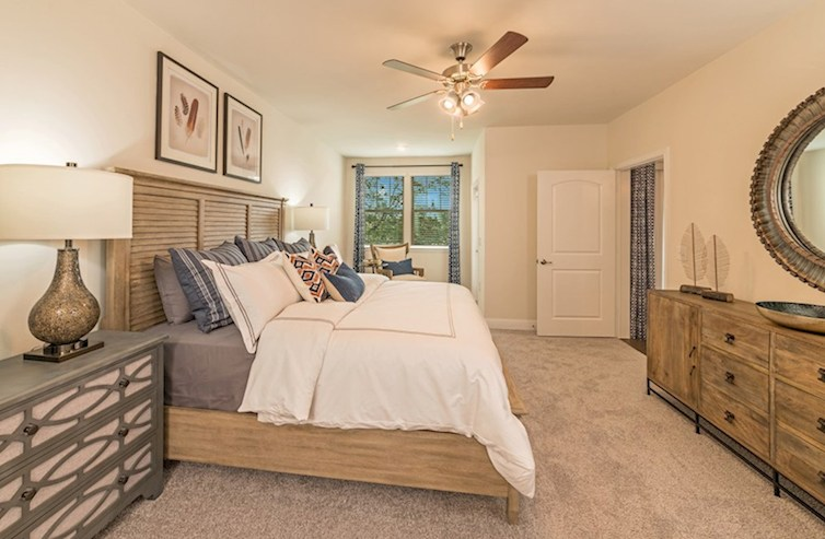 Gatherings® at Indian Lake Clifton gracious master bedroom