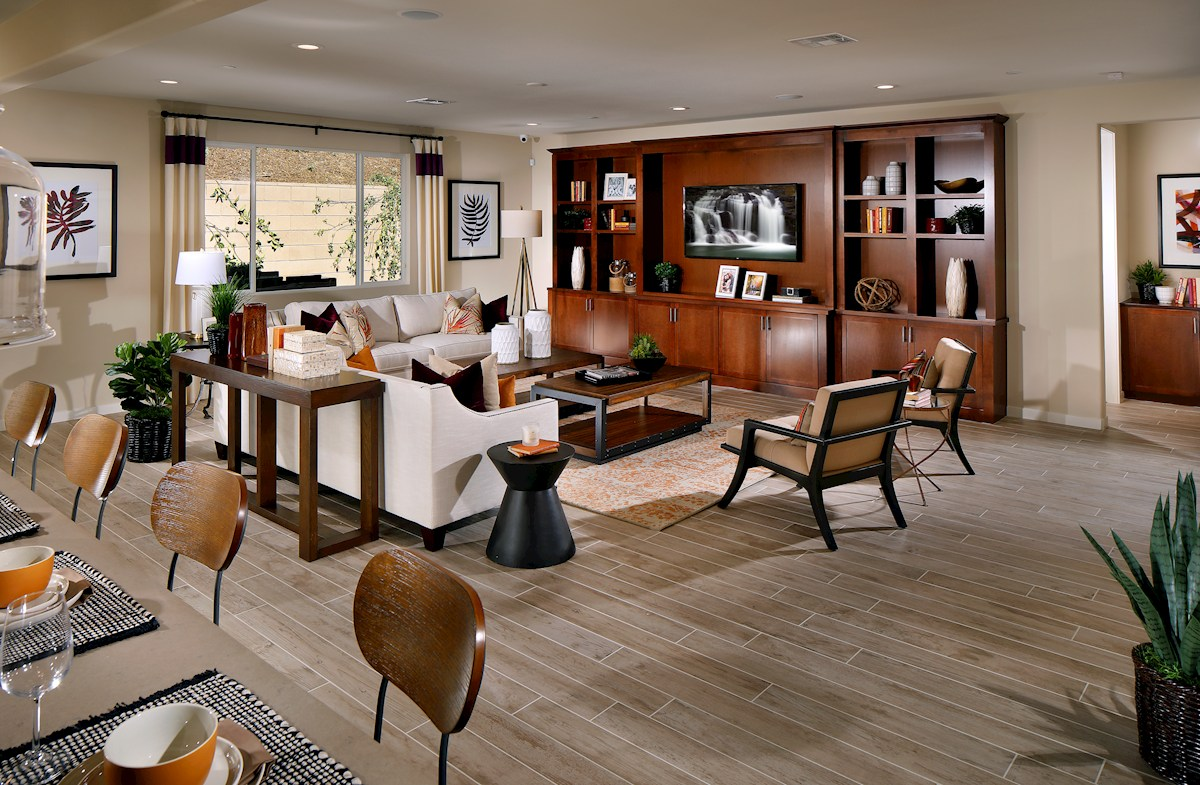 Entertain guests in your spacious great room