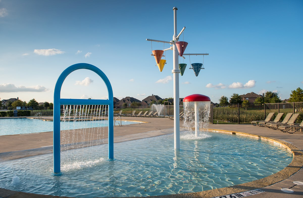 Lakes of Prosper splash pad