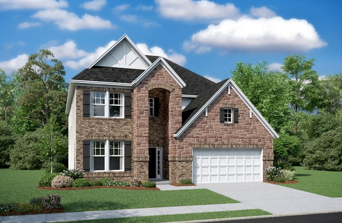 Dogwood Elevation English Revival L