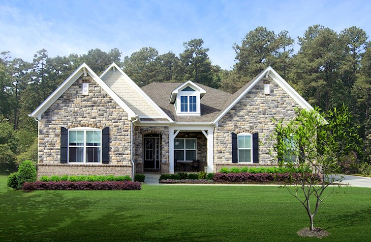 Delaware with French Country exterior