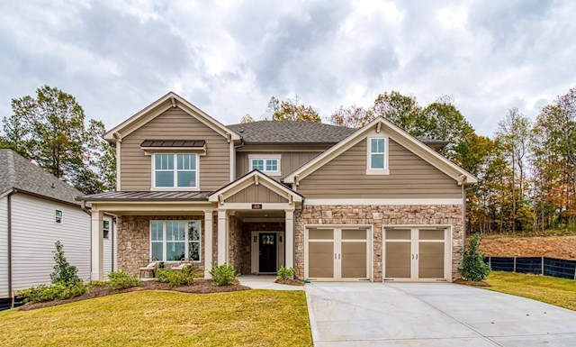 Two-story home with front porch video tour