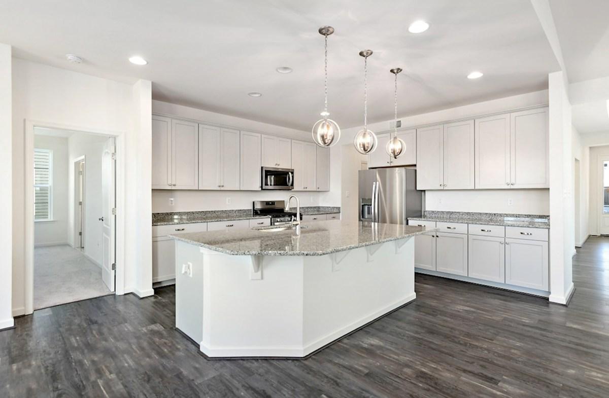 Dirickson quick move-in Dirickson kitchen featuring stainless steel appliances