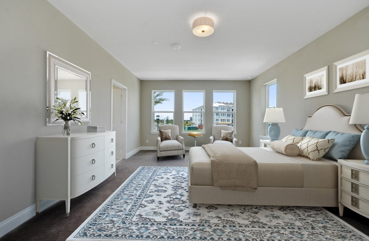 Dogwood quick move-in serene master bedroom