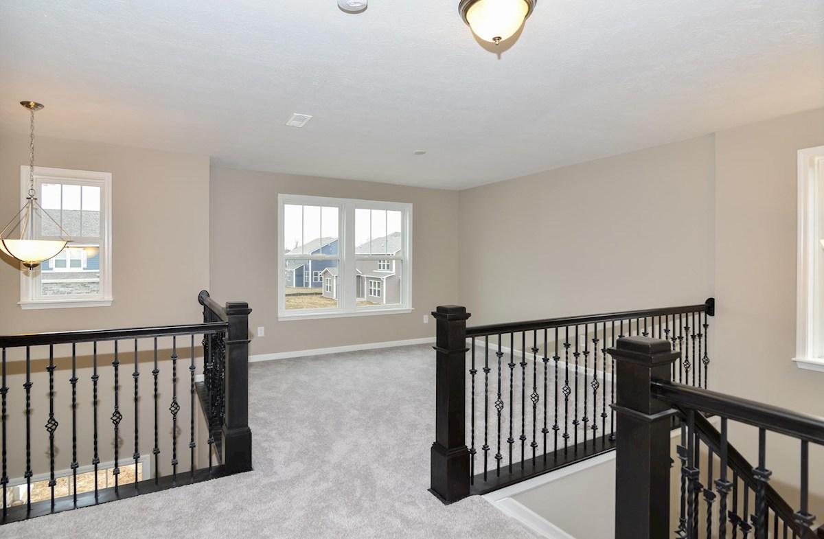 Porter quick move-in Flexible loft space on 2nd floor