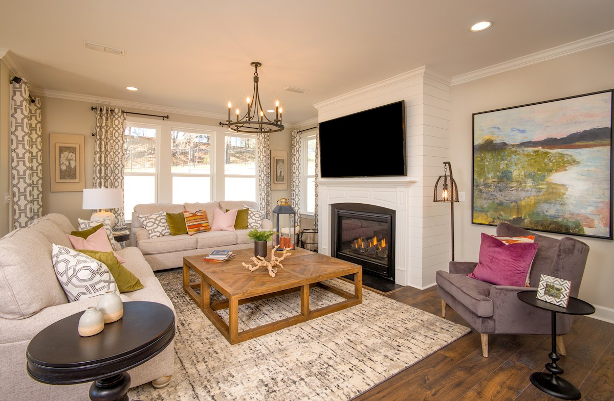 Sage family room