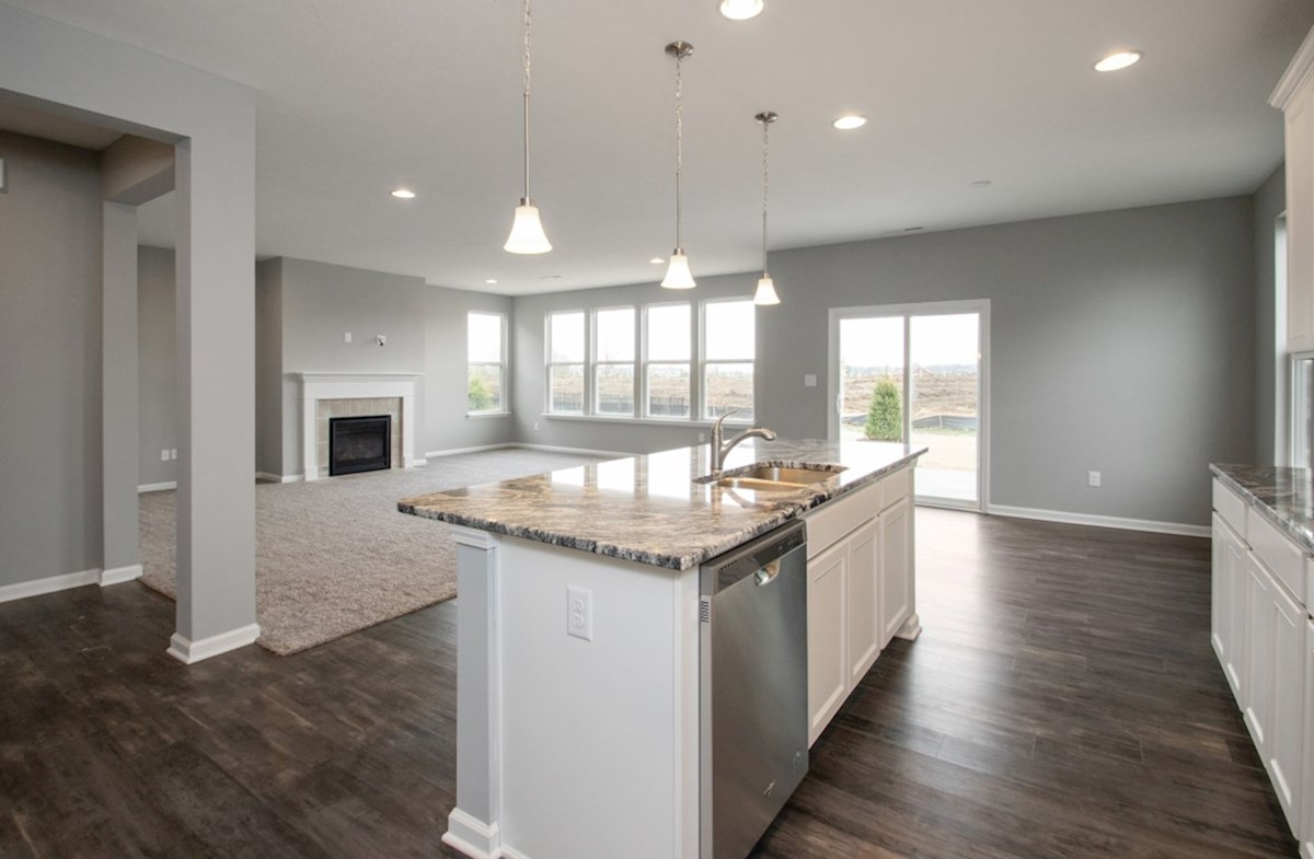 Shelby quick move-in Gourmet kitchen with white cabinets