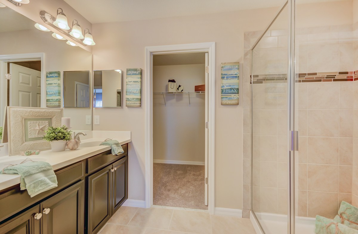 Long Lake Ranch Townhomes Tahoe Tahoe master bath