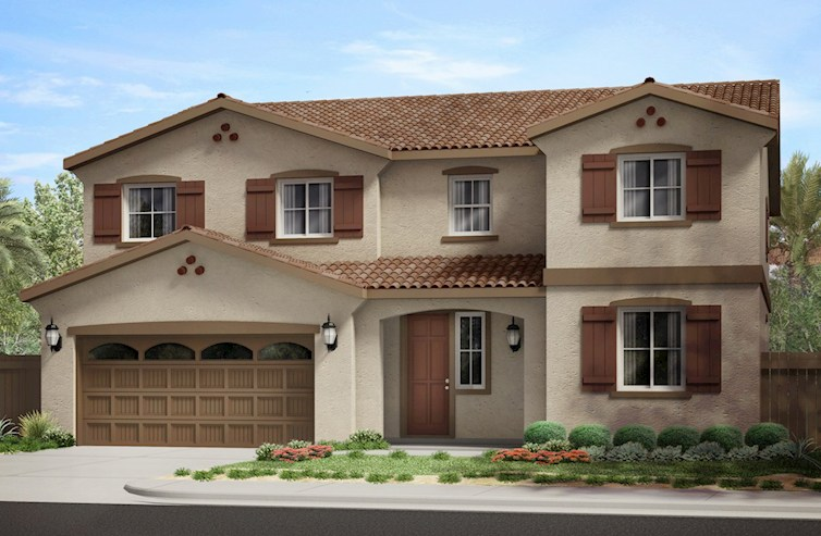 Starflower Elevation Spanish Colonial L