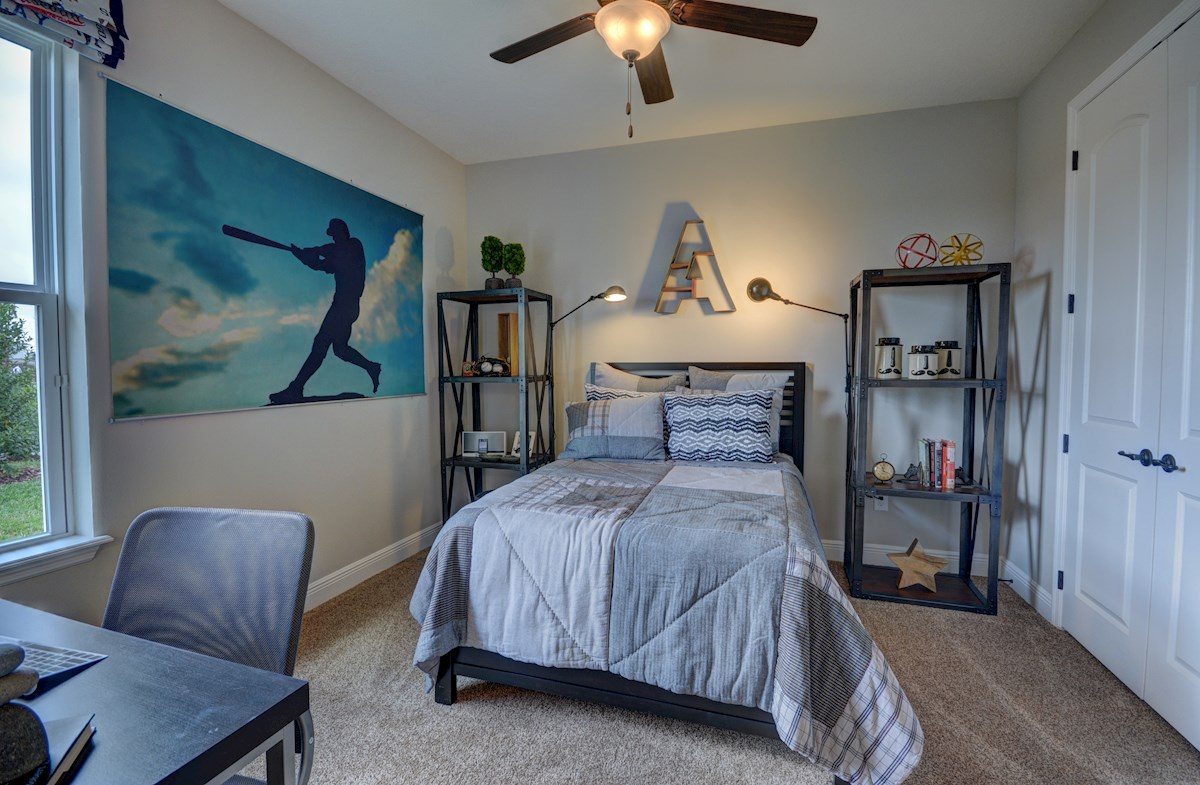 Long Lake Ranch Redwood secondary baseball bedroom