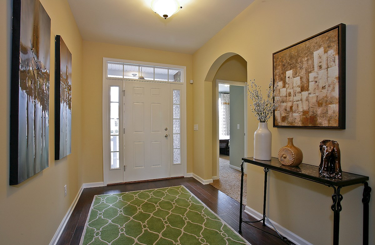 Owl Creek Greenwich welcoming entry foyer