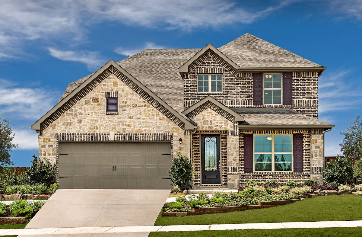 Brookhaven model home exterior