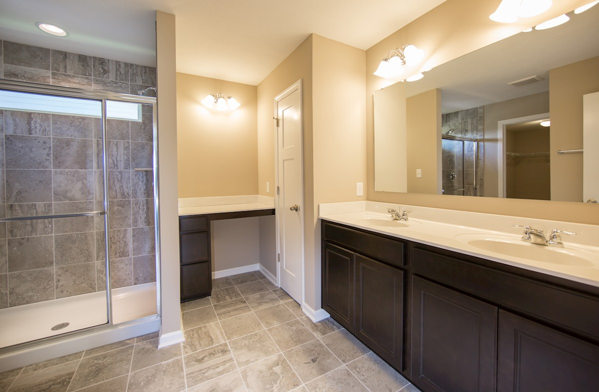 Heritage at Vermillion Morgan Stylish master bath