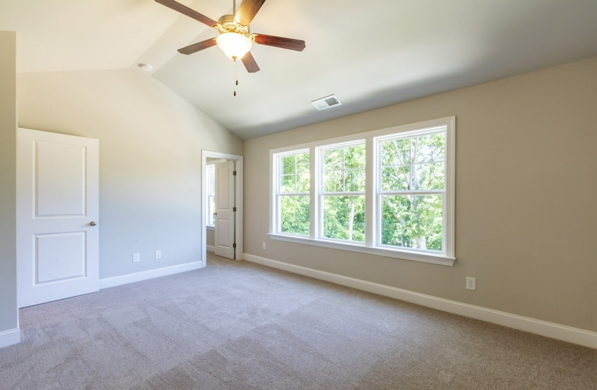Preston quick move-in Master Bedroom with ceiling fan