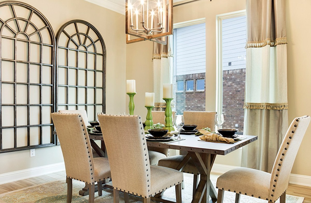 Bandera quick move-in light filled dining rooms