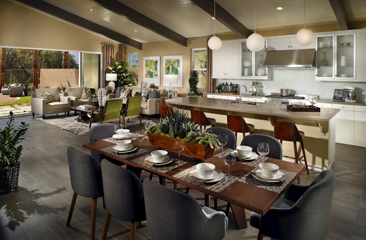 Residence 2 quick move-in dining room for family meals
