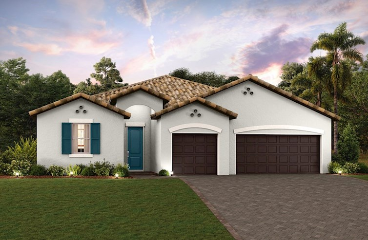 Dunes Elevation Spanish Colonial L
