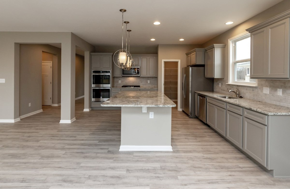 Shelby quick move-in open kitchen with large island