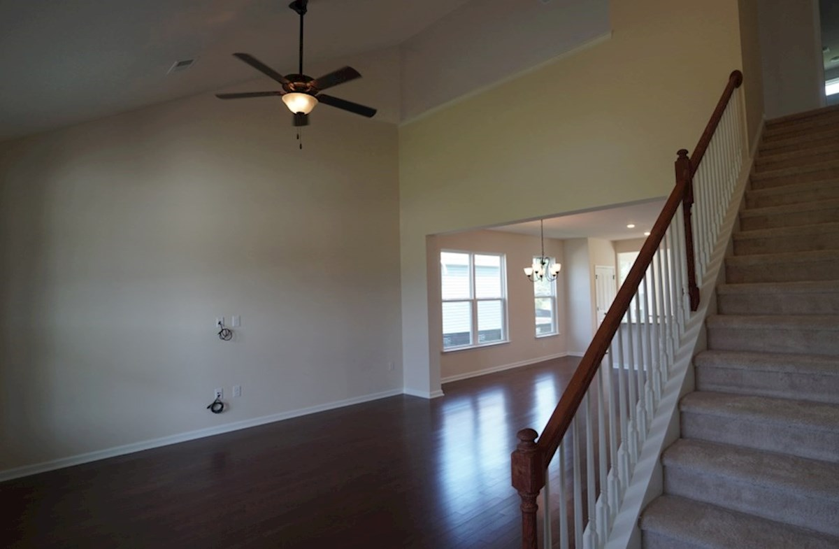 Lexington quick move-in great room with second story ceilings