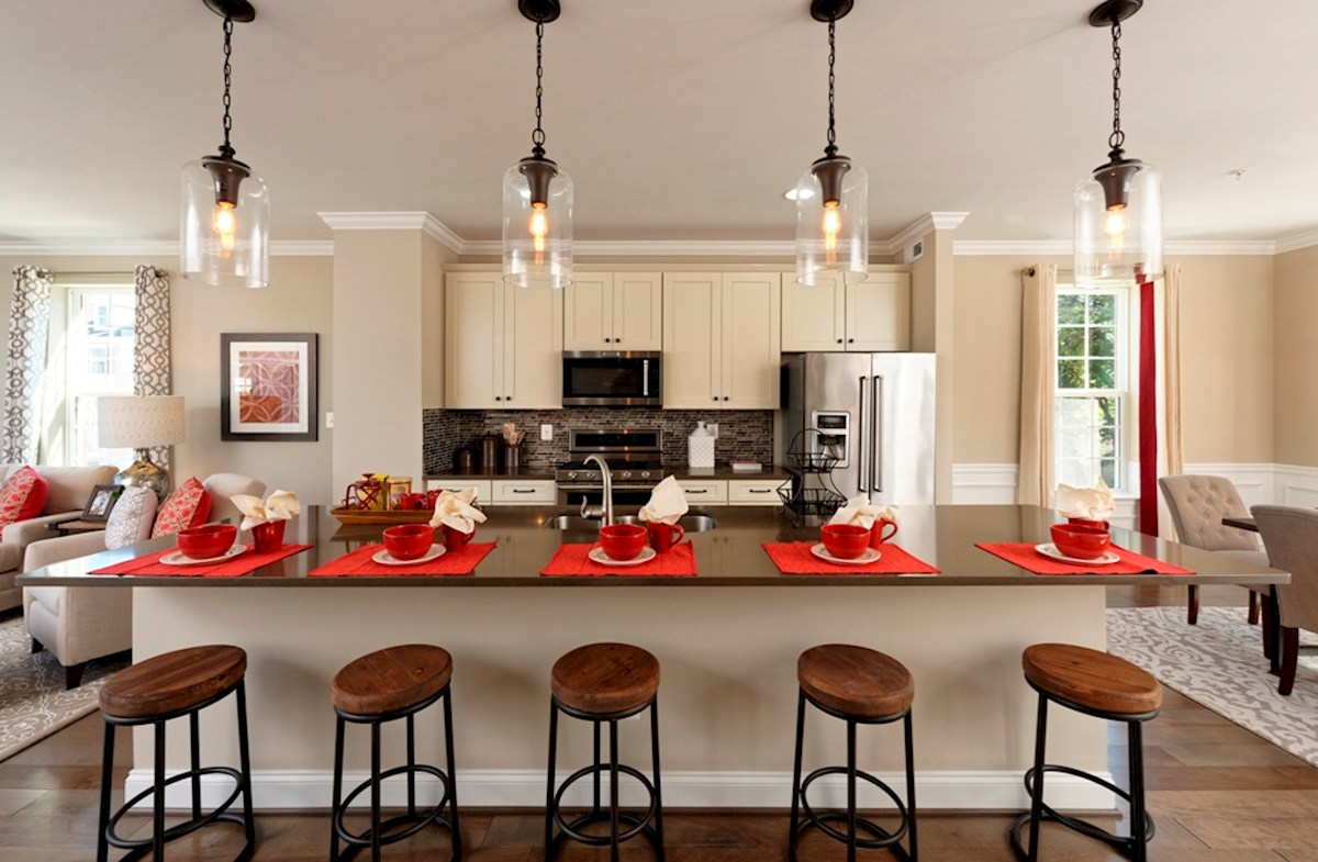 Morris Place Rockville II modern kitchen layout