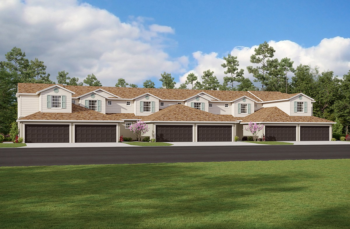 Townhome exterior