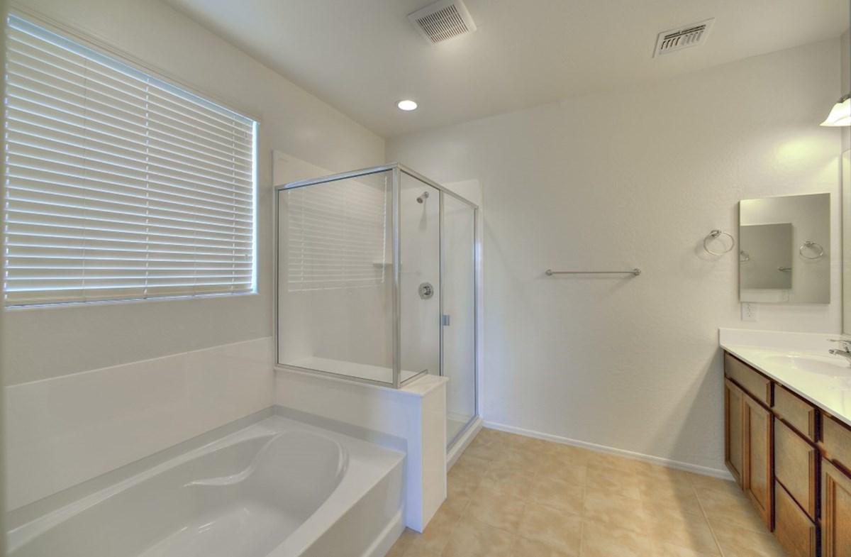 Silverado quick move-in large soaking tub