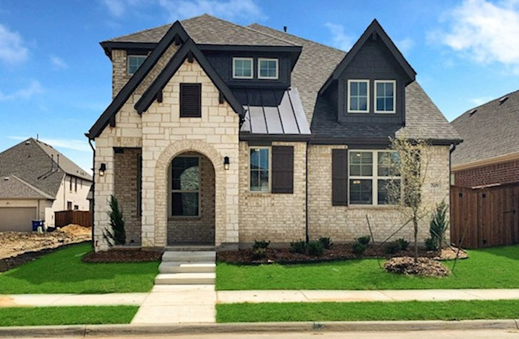 Brazos Elevation English Revival B quick move-in