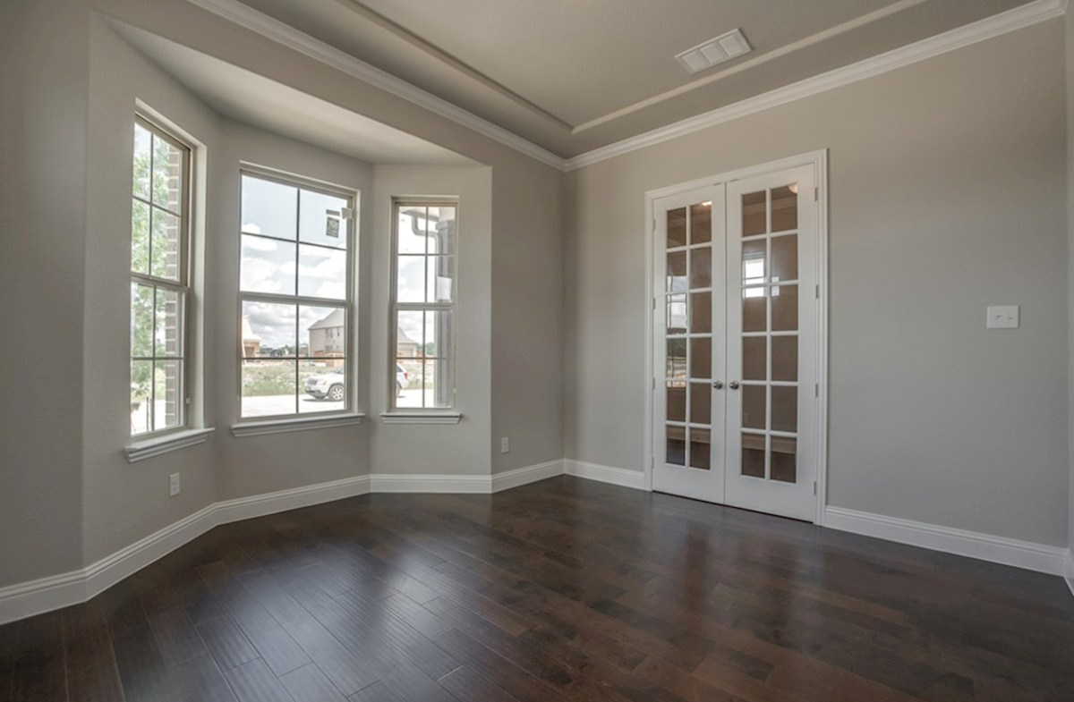 Fairfield quick move-in study with French doors