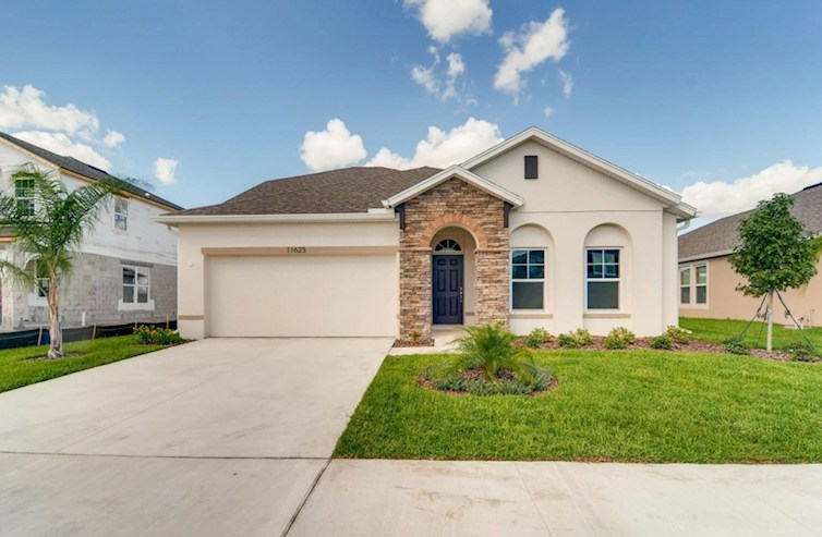 St Augustine III Elevation Spanish Colonial M quick move-in