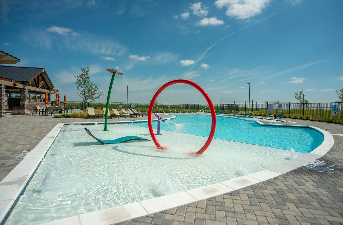 Splash Pad at Community Pool