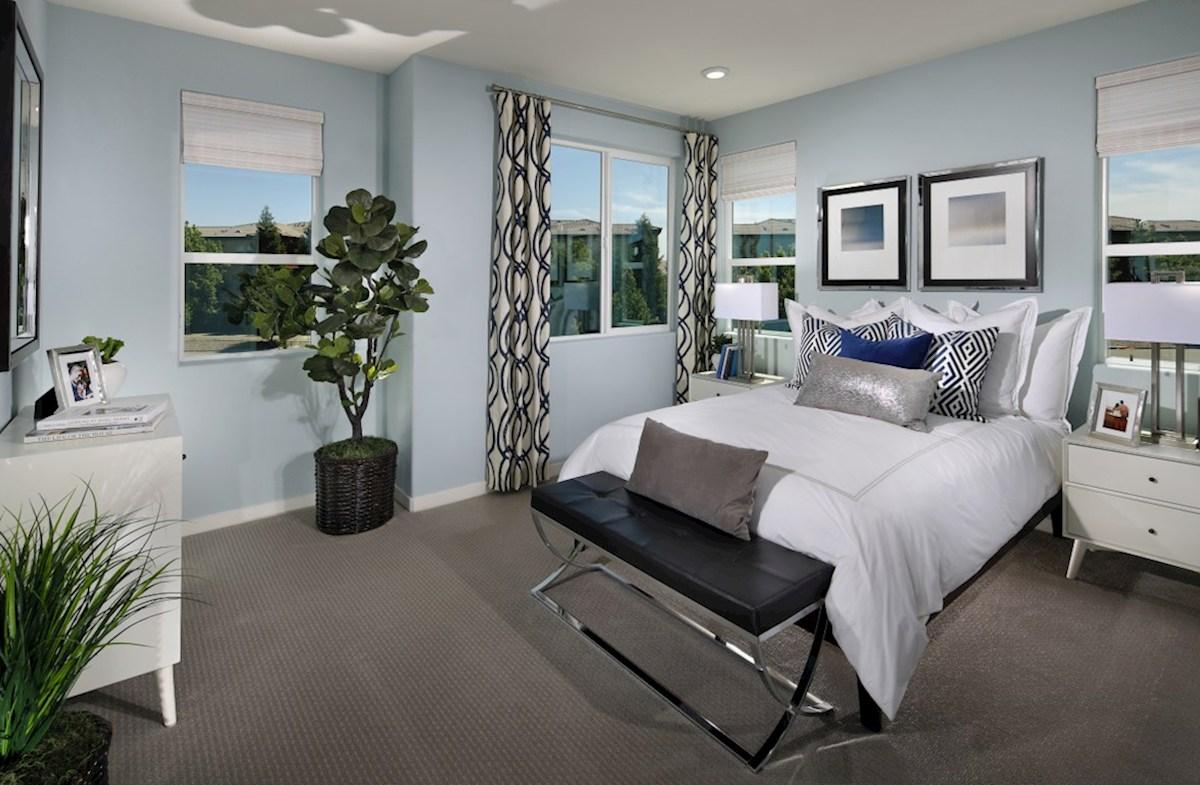 Natomas Field Augustus cozy master bedroom