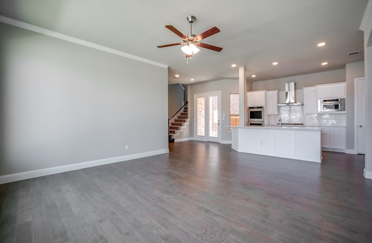 Eastland quick move-in kitchen opens to great room