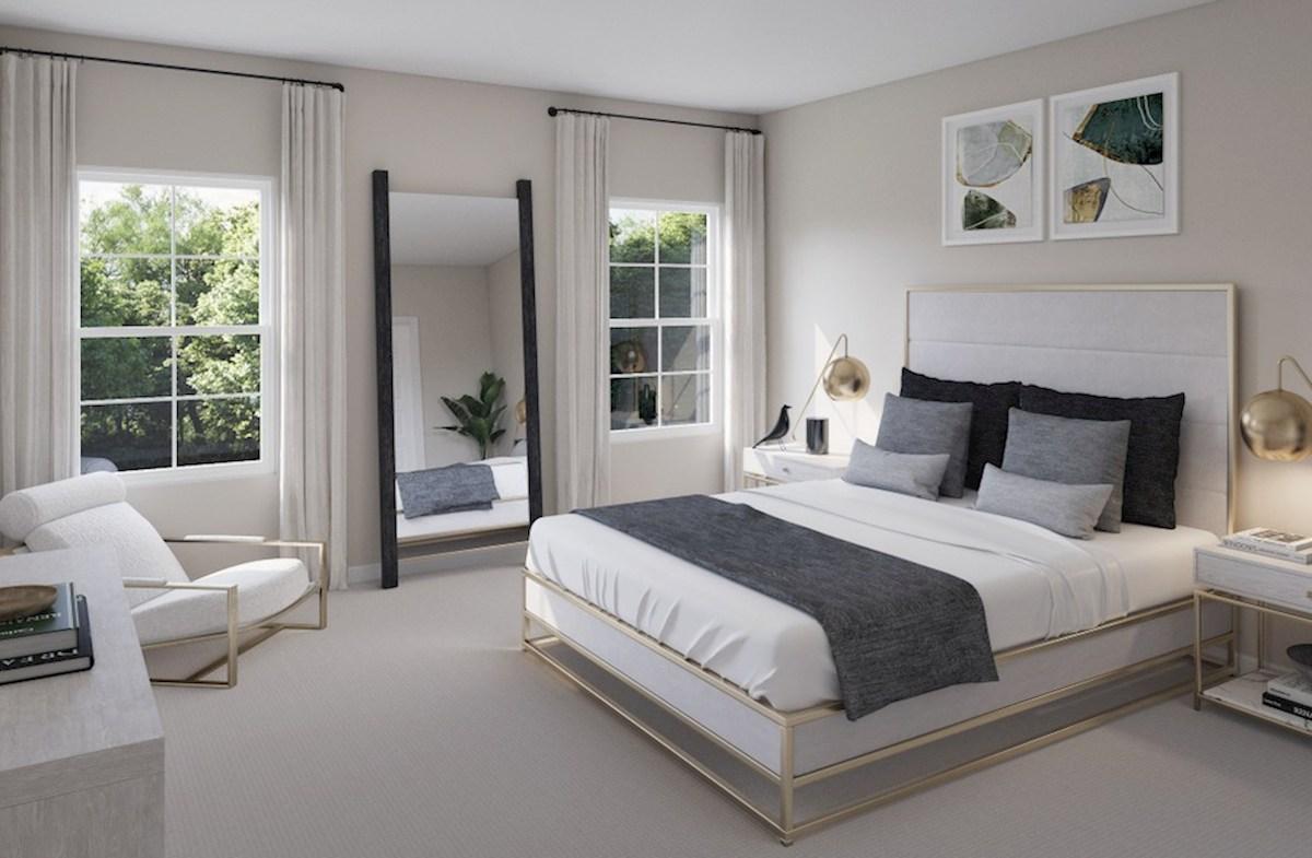 Hampton Place Waverly Waverly master bedroom