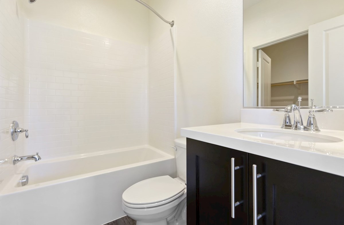 Suncup quick move-in Spacious secondary bathrooms are ideal for guests.