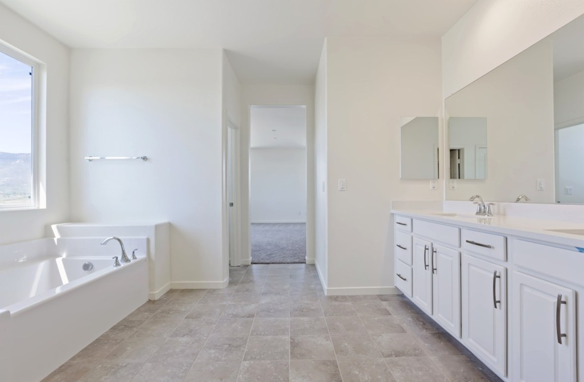 Reserve quick move-in Master bathroom with multipule windows to maximize natural light exposure