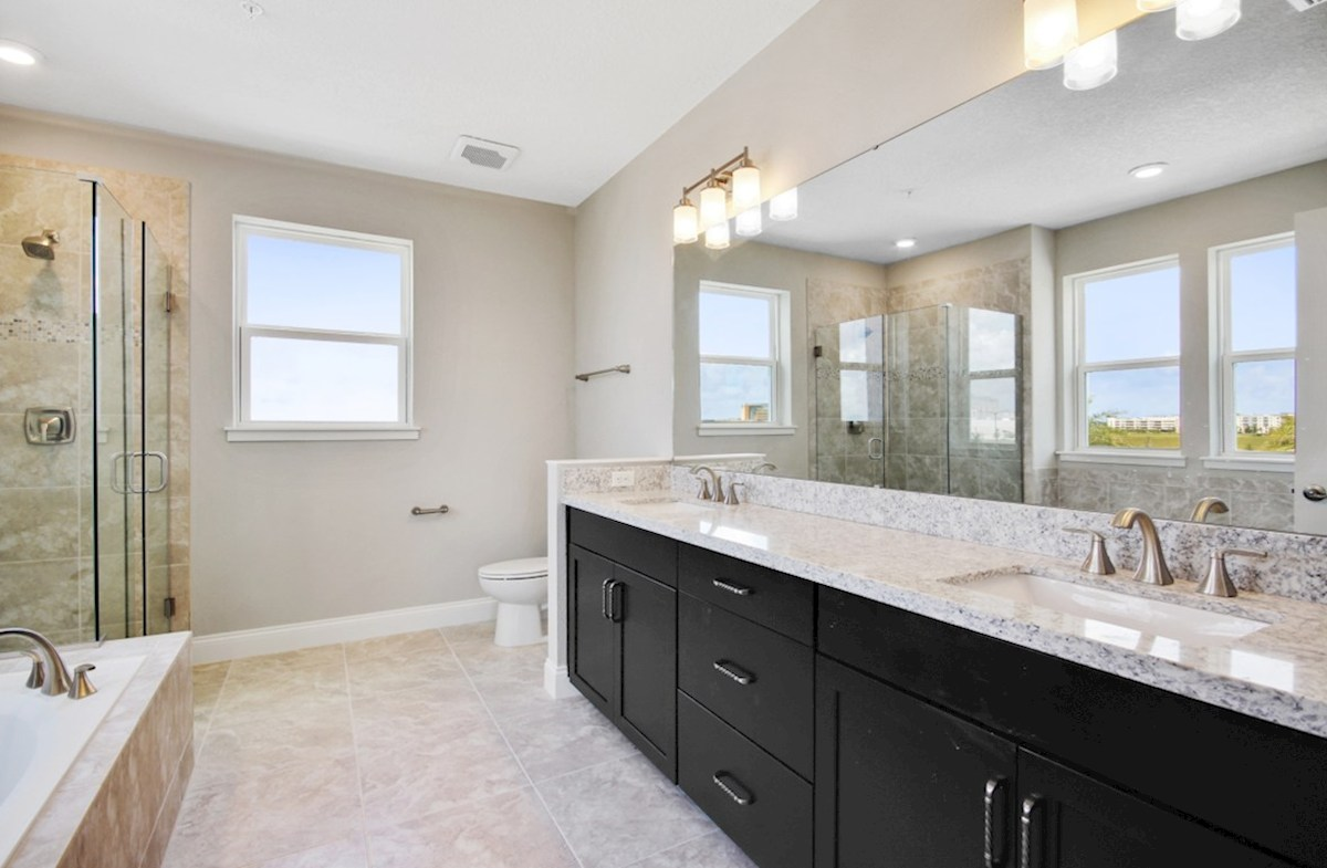 Dogwood quick move-in tranquil master bath