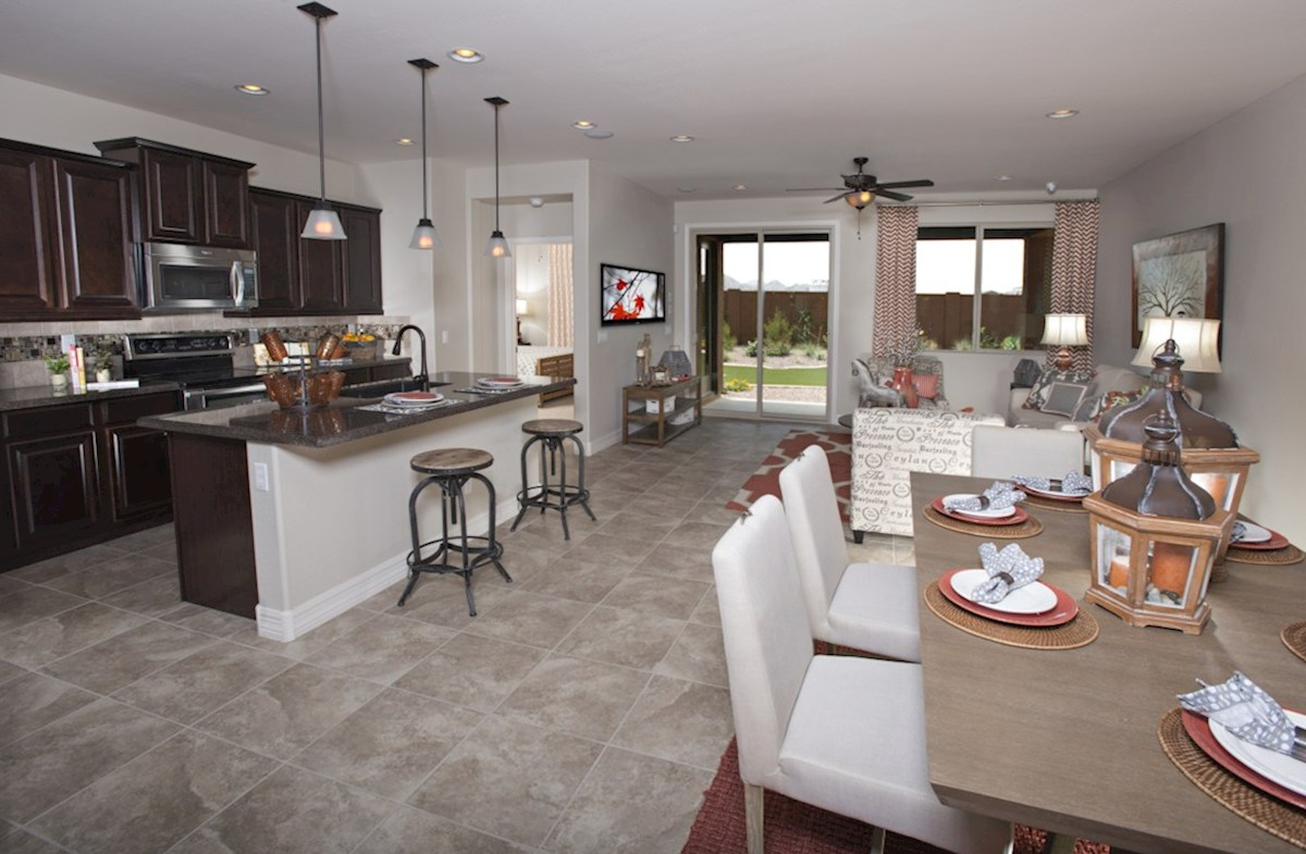 Zanjero Trails Silverado open floorplan