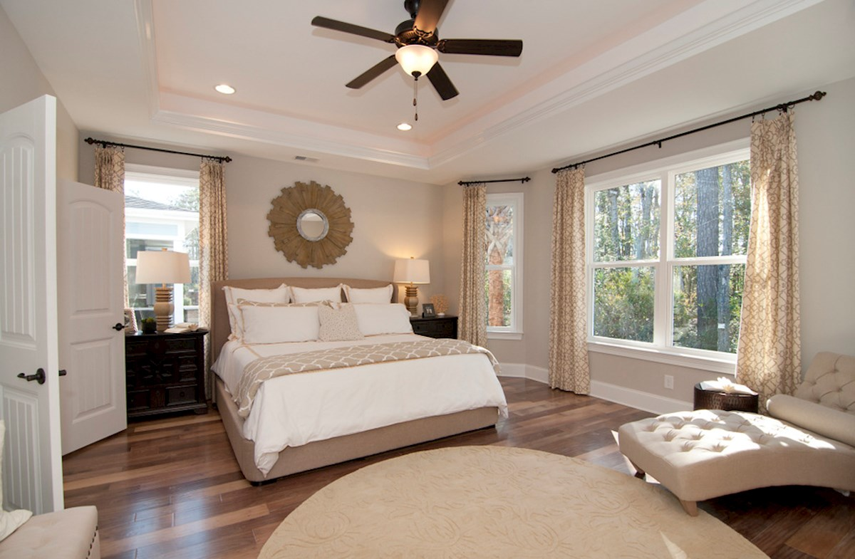 private Blair master bedroom