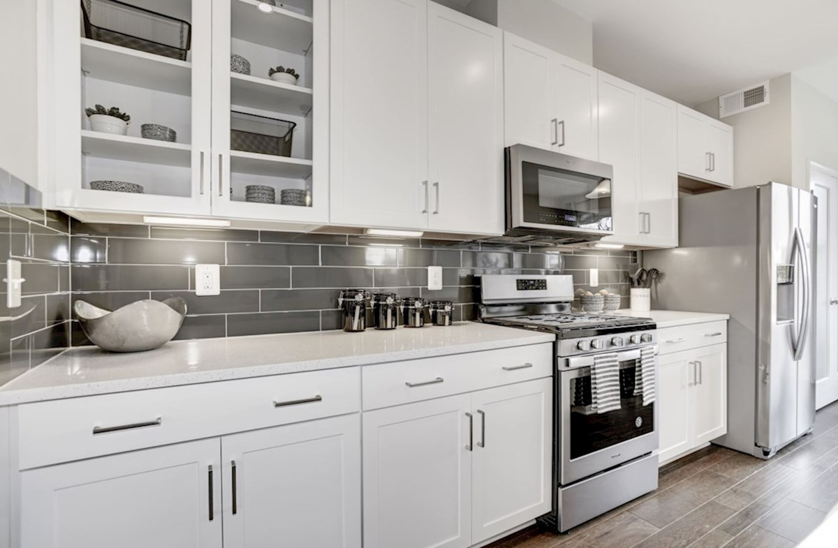 Enclave at Long Branch Belhaven functional kitchen