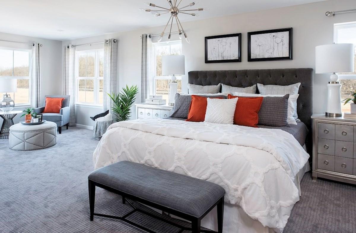 Riverwalk at Crofton Annapolis Annapolis master suite with sitting room