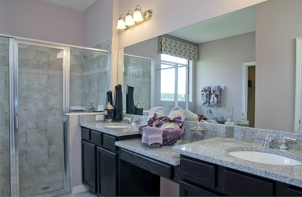Reserve at Sawgrass St Augustine III luxurious master bathroom