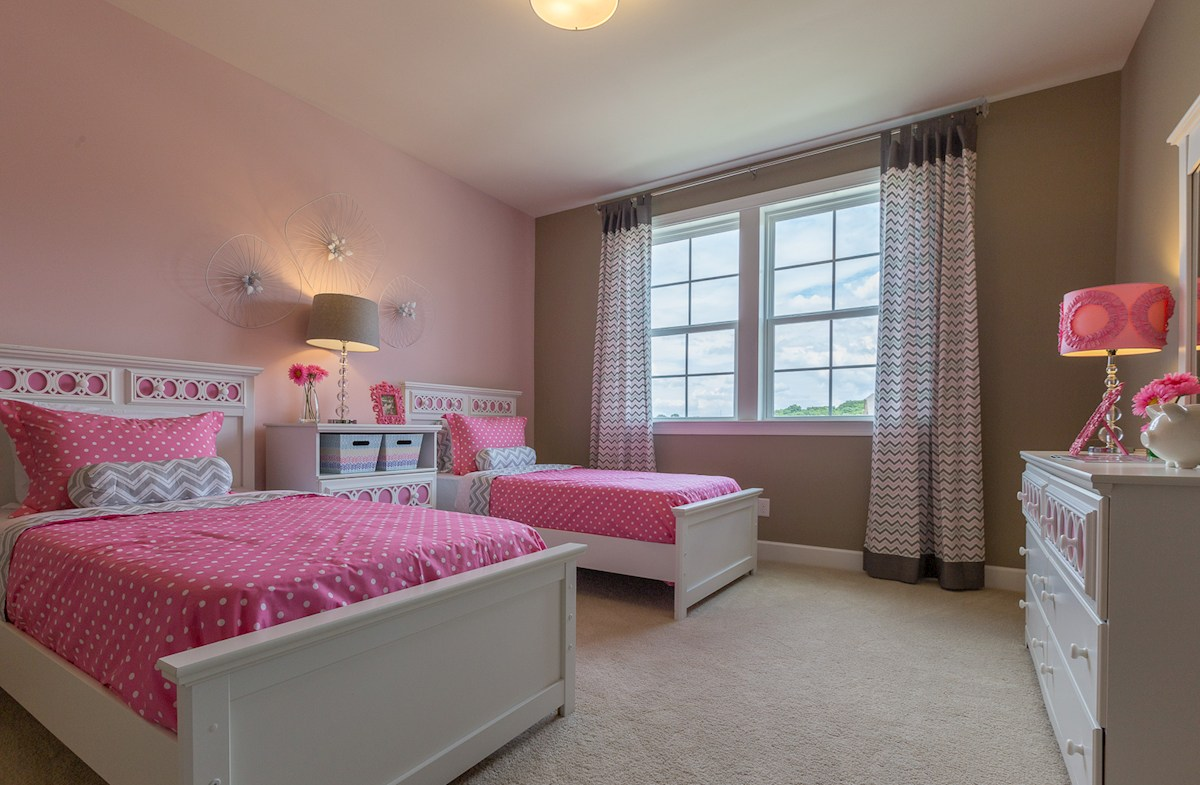 Whittmore Mckinley large secondary bedroom in pink